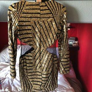 EUC SHEIN Sequin Bodycon Dress